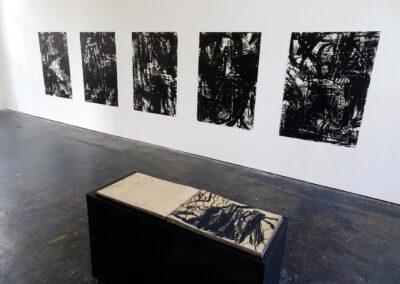 SUM-I | 2017 | Buch im Raum 02 | 42 x 60 cm | © Martina Stürzl-Koch