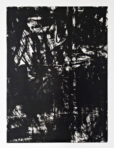 SUM-I | 2017 | Ölmonotypie | 100 x 140 cm | Detailansicht: 2 von 8 | © Martina Stürzl-Koch